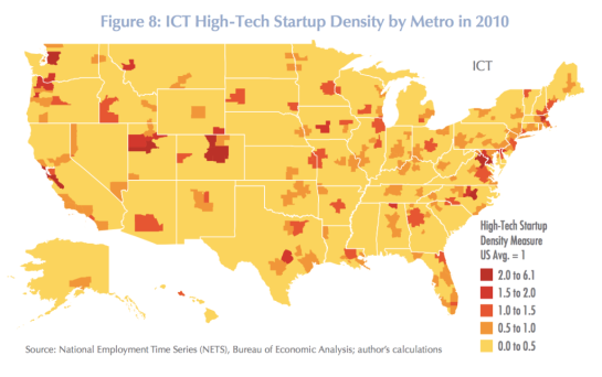 high-tech-startup-density-map